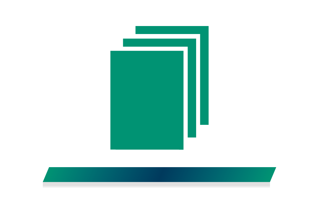 Icon of a stack of documents
